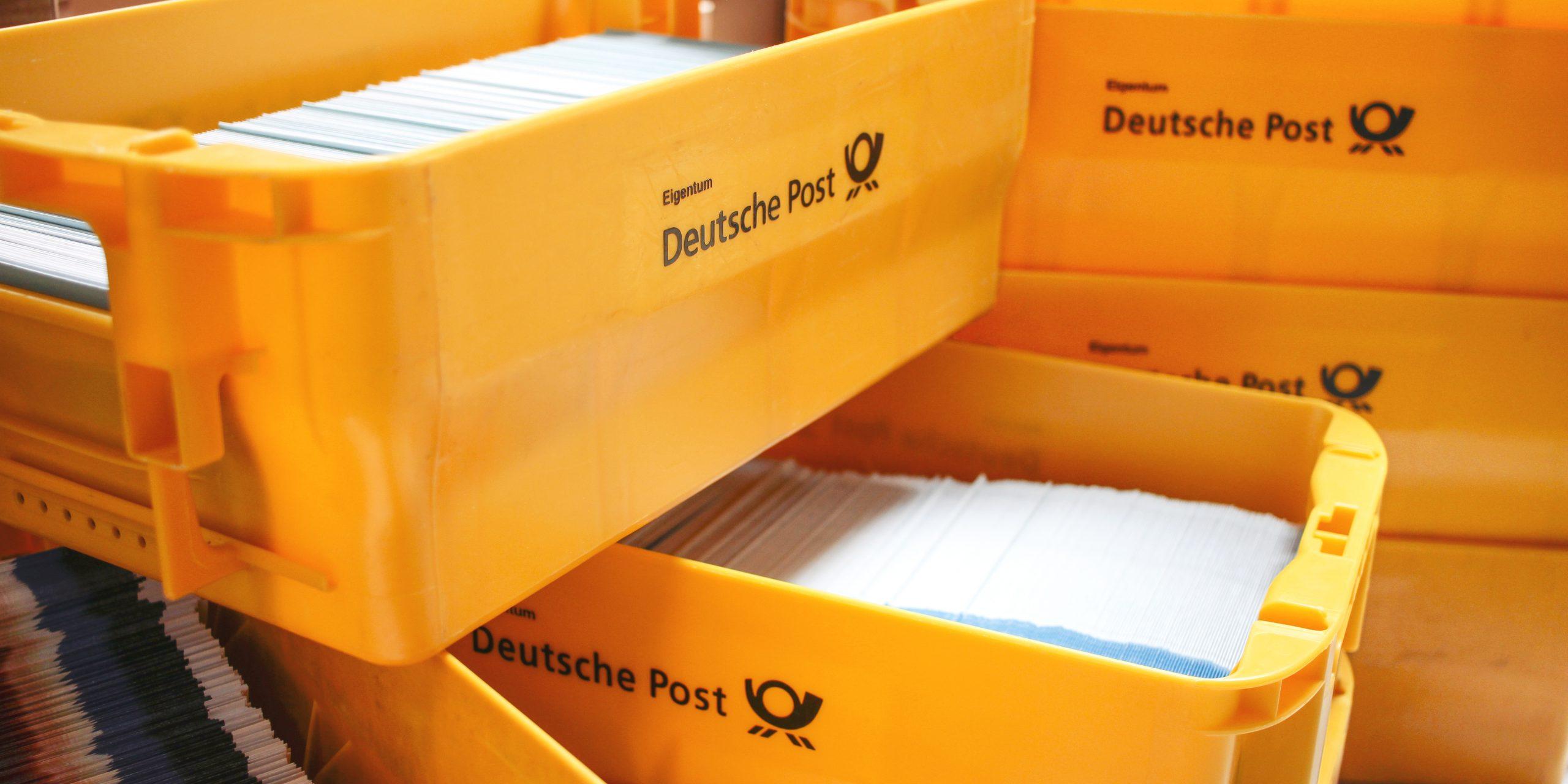 Postkisten fuer Mailing