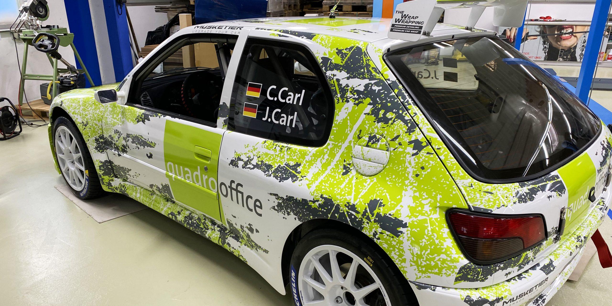 Premium Car Wrap - quadro Office