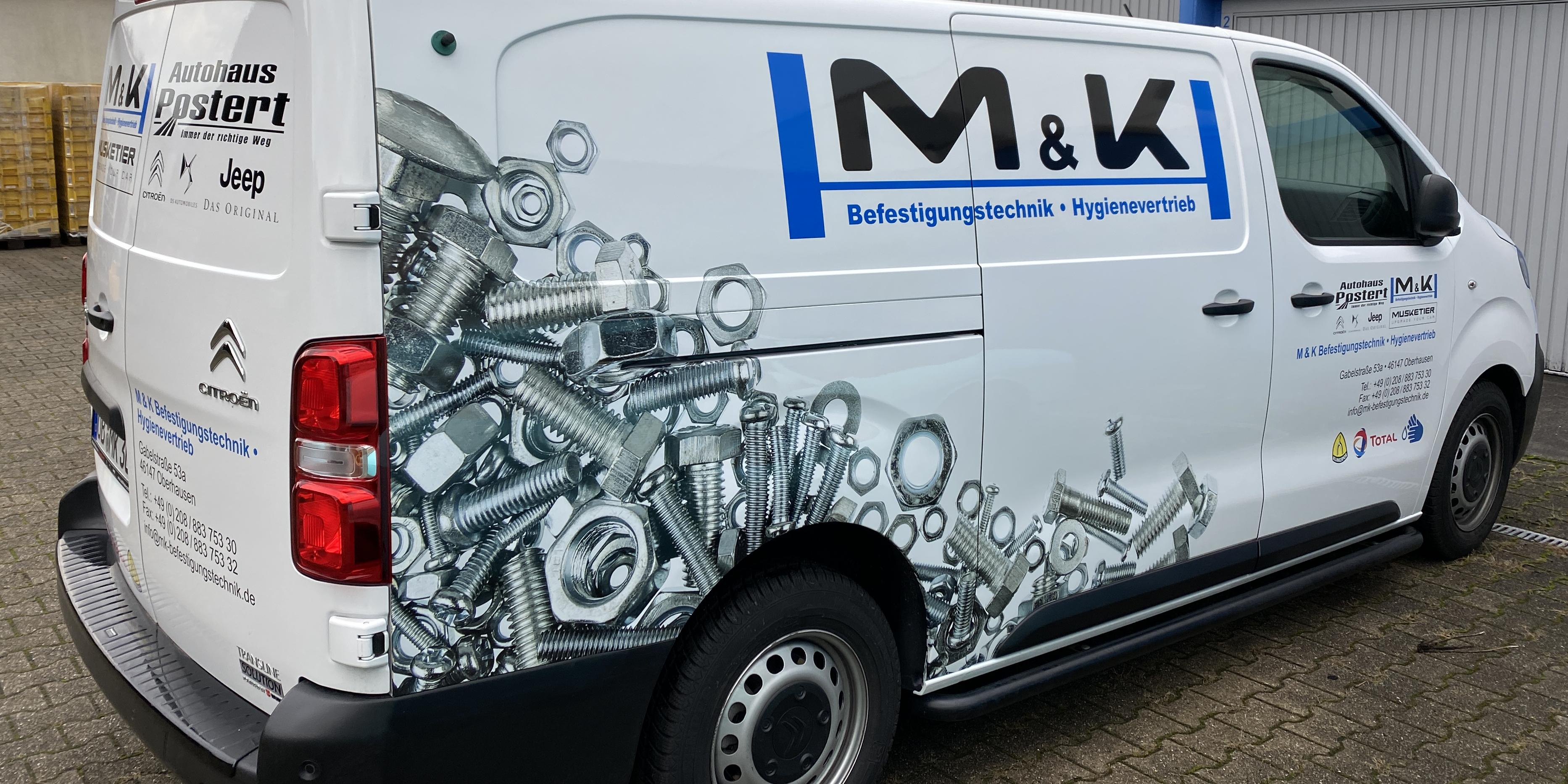 KFZ Teilfolierung - MK Solventdruck